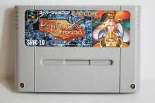 Knights of the Round SFC Super Famicom Nintendo SNES Good Japan Import US Seller