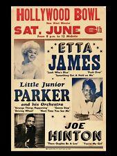 Etta James Hollywood 16x12 Repro Concert Poster