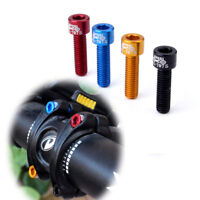 4pcs/bag Bicycle Handlebar Stem Screw M5x17mm Aluminum Alloy Bolt Fixed Gear MTB