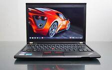 Lenovo ThinkPad X230 laptop Core i5 2 5Ghz 12' HD display 8GB  120ssd win 10 pro