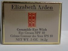 Elizabeth Arden Ceramide Eye Wish Cream SPF 10 .5/0.5 oz. 14.2g Sealed Box