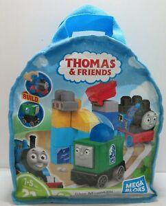 Mega Bloks Thomas & Friends Blue Mountain Team Up - Complete 21 Piece Set VGC