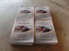 2007 Jeep Commander Factory Service Manuals Set