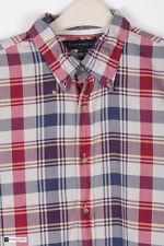 Tommy Hilfiger Hombre Manga Larga Corte Normal Camisa Informal Multi Talla