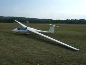 Standard Cirrus 118 inch Sailplane, Glider, RC AIrplane Printed Plans