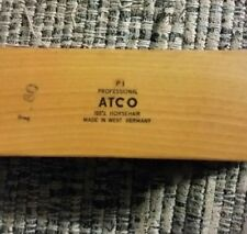 Vintage SHOE SHINE BRUSH ATCO - P1 Professional 100% Horsehair West Germany