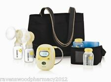 NEW Medela Freestyle DOUBLE Electric Breast Pump Calma + Receipt for Warranty