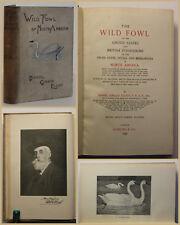 Elliot The Wild Fowl of North America 1898 Vogelart Naturwissenschaft Tiere sf