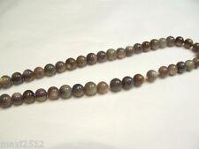 """1 x 15 """"chaîne x 5,5 mm teints les perles: 151 vison"""