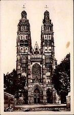 TOURS Carte Postale France ca. 1920/30 Cathedrale Kirche Kathedrale S. Gatien