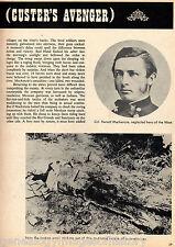 Bad Hand Mackenzie Custer's Avenger + genealogy