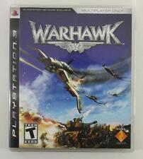 Playstation 3 Warhawk Multiplayer Only Online Lan Split Screen Video Game Teen