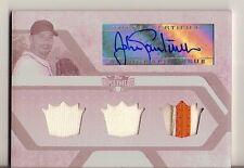 2008 Triple Threads Johan Santana Auto 1/1 Jersey Autograph Patch White Whale