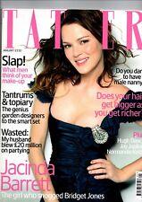 TATLER MAGAZINE--JACINDA BARRETT--JAN 2005 *FREE UK SHIPPING