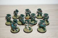 Warhammer 40k Space Marine Tactical Squad x 10 Marines