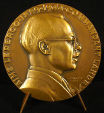 Médaille à Aimé Lepercq Lucien Bazor sc i Collonges-au-Mont-d'Or résistant medal