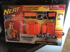 Nerf - N-Strike - Bandolier Kit - Strap with 2 quick reload clips & 24 darts