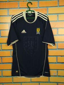 Scotland Jersey 2010 2011 Home SMALL Shirt Football Soccer Adidas U40521