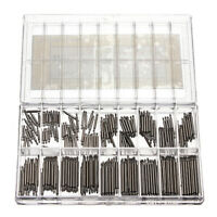 360PCS 8-25mm Strap Link Pins Stainless Steel Repair Kit Watch Band Spring Bar