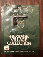 """""""NEW"""" Dept 56 Christmas Village Heritage Collection Banner or Sign 9482"""