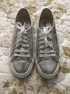 Superga Leather trainers size 6 Worn Once
