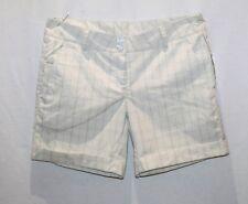 Fayde Golf Brand Beige Check Golf Shorts Size 6 BNWT #TU101