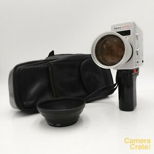 Braun Nizo S800 Super 8 Cine Film Camera & Case - Fully Working #S8-4300