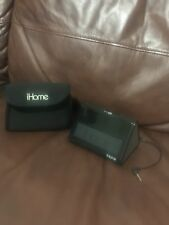 iHome portable mini speaker Model iHM-3B in Black with case