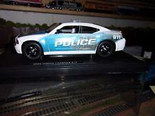 CUSTOM DODGE CHARGER DETROIT POLICE CAR  1/24