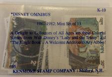 New listing Disney Omnibus 1981-1982 Mint Set of 13: Bhutan Grenada Grenadines