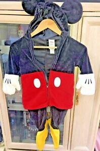 Disney Store Mickey Mouse Plush Baby Costume size 18 months