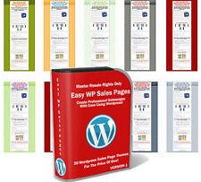 Easy WordPress Sales Pages - diverse Lizenzarten