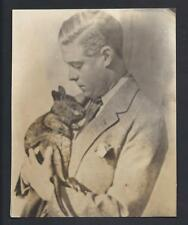 Australia Tour King Edward VIII Duke of Windsor & Baby Digger the Wallaby 1920