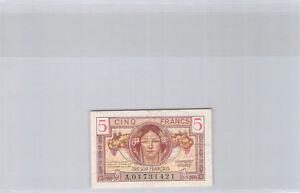 Trésor Français 5 Francs (1947) n° A01731421