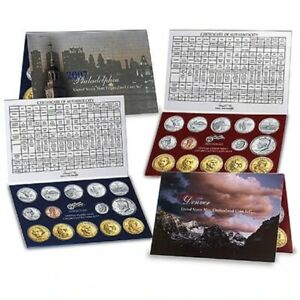 2007 Mint Set United States Uncirculated Coin Set OGP Philadelphia & Denver BL23
