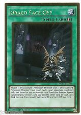 Draco Face-Off PGL3-EN090 Gold Rare Yu-gi-oh Card 1st New