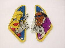 Data East The Simpsons Pinball Machine Slings Slingshots Plastics - New