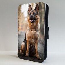 German Shepherd Alsatian FLIP PHONE CASE COVER for IPHONE SAMSUNG