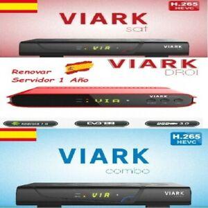 Recargar Servidor Viark Sat Viark Combo Droi H265 Prometheus Renovar pt un Año