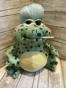 Cuddle Barn FEVER FROG Animated Plush Toy Lights Up Movement Sick Gift SINGS