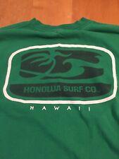 VTG HONOLUA SURF CO.  Green  HAWAII HAWAIIAN ISLAND 1996 TEE T SHIRT M Medium