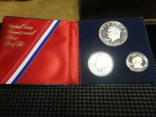 1976-S United States Bicentennial Silver (3) Coin Proof Set