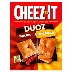 Cheez-It Duoz Bacon & Cheddar 12.4oz
