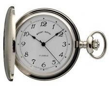 Lever Full Hunter Chrome Pocket Analog Wristwatches
