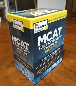 The Princeton Review MCAT Complete 7-Book Subject Review Box Set