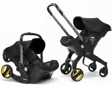 Doona Infant Baby Car Seat Travel Stroller Nitro Black with Latch Base NEW 2019