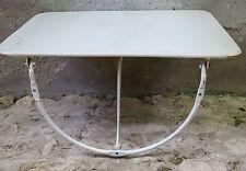 TABLETTE PLIANTE,petite table,grande étagère, applique, design,cuisine,émaillée