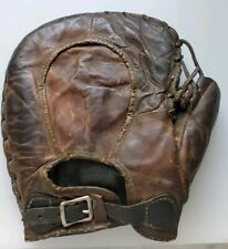 VINTAGE COLLECTIBLE RUSSELL GUY  WRIGHTSONE SIGNATURE BUCKLE BACK BASEBALL GLOVE