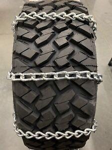 *9.5MM*USA* Extra Thick Heavy Duty Tire Chains 37x12.50R20LT 37x12.50R22LT 5-1-3