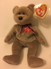 RARE 1ST EDITION 1999 SIGNATURE BEAR TY BEANIE BABY MINT CONDITION